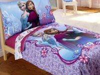 Disney 4 Piece Frozen Toddler Bedding Set