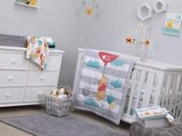 Disney Winnie the Pooh First Best Friend 4 Piece Nursery Crib Bedding Set