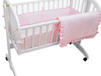 American Baby Company Heavenly Soft Cradle Bedding Set