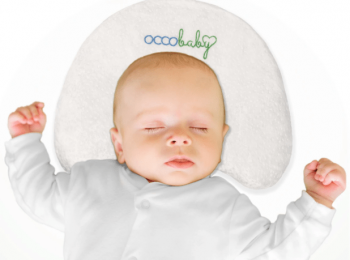 OCCObaby Baby Head Shaping Memory Foam Pillow